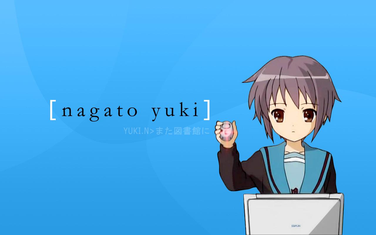 Mirar una hoja de personaje Nagato-yuki-using-mouse