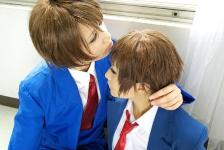 Koizumi and Kyon